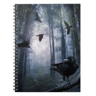 霧深い森林はノート鳴きます ノートブック