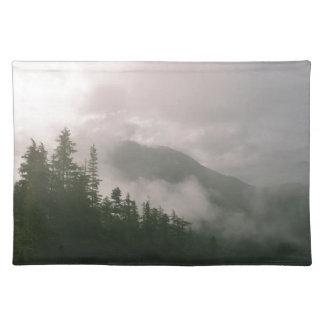 霧深い森林 ランチョンマット