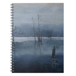 霧深い水 ノートブック