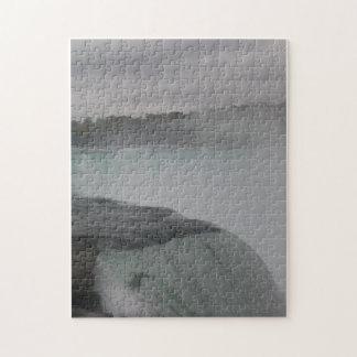 霧深い滝(困難なパズル) ジグソーパズル
