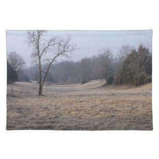 霧深い草原 ランチョンマット