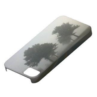 霧深い道 iPhone SE/5/5s ケース