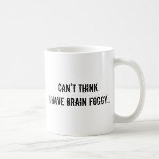 霧深い頭脳 コーヒーマグカップ