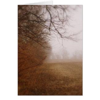 霧深い カード