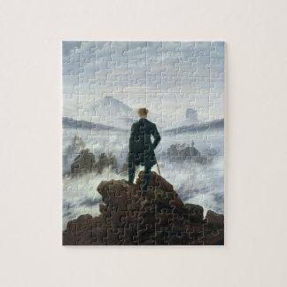 霧1818年の海の上の放浪者 ジグソーパズル