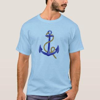 青いいかりの船員のTシャツ Tシャツ