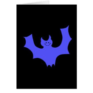 青いこうもり カード