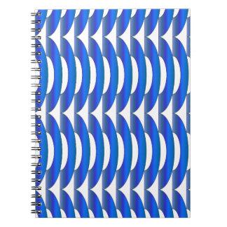 青いさざ波 ノートブック