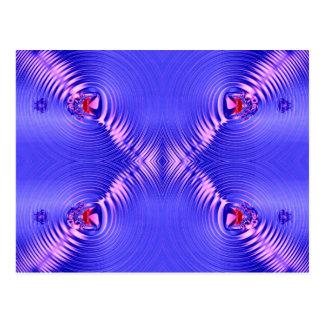 青いさざ波 ポストカード