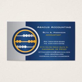 青いそろばんの会計の名刺 名刺