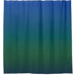青いたそがれ シャワーカーテン