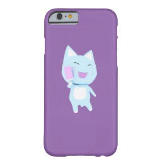 青いアイスキャンデー猫 BARELY THERE iPhone 6 ケース