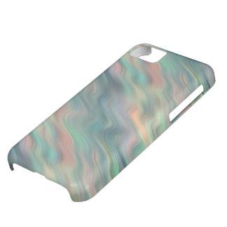 青いアイリス波状の質 iPhone5Cケース