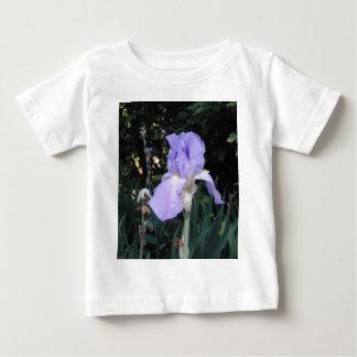 青いアイリス ベビーTシャツ