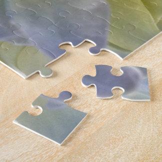 青いアジサイのパズル ジグソーパズル