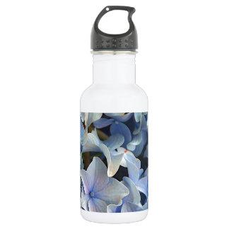 青いアジサイの花 ウォーターボトル