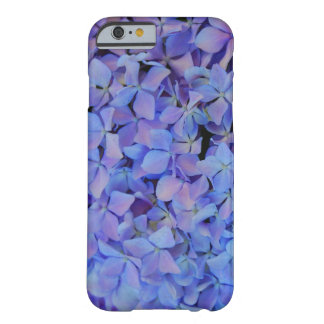 青いアジサイのiPhone6ケース Barely There iPhone 6 ケース
