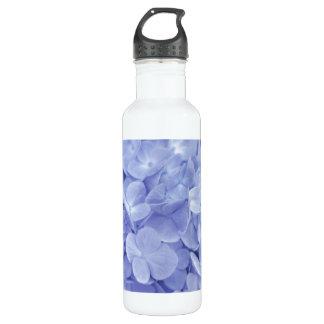 青いアジサイ ウォーターボトル