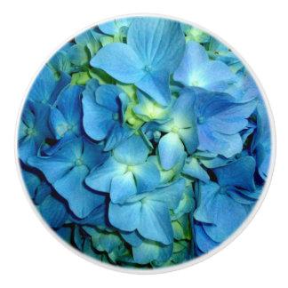 青いアジサイ セラミックノブ
