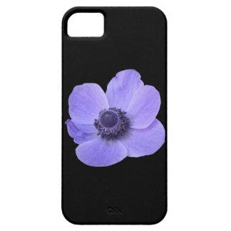 青いアネモネのiPhone 5の箱 iPhone SE/5/5s ケース