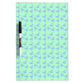 青いアヒル ホワイトボード