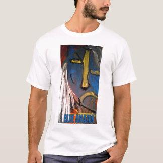 青いアマゾン Tシャツ