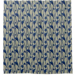 青いイチョウ-シャワー・カーテン シャワーカーテン