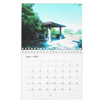 青いイメージのカレンダー2017年 カレンダー