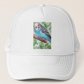 青いインコの帽子 キャップ