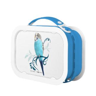 青いインコ ランチボックス
