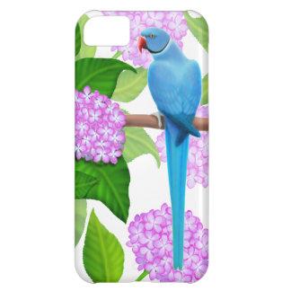 青いインディアンのRingneckのインコのiPhoneの箱 iPhone5Cケース