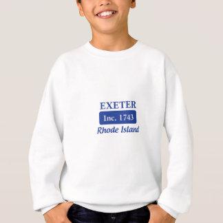 青いエクセターロードアイランド スウェットシャツ
