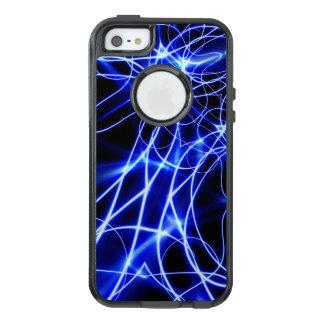 青いエネルギーライン、ファンタジーの青のフラッシュ オッターボックスiPhone SE/5/5s ケース