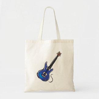 青いエレキギター音楽graphic.png トートバッグ