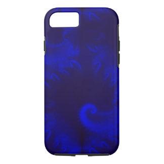 青いオウムガイのフラクタル iPhone 8/7ケース