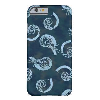 青いオウムガイの私電話6箱 BARELY THERE iPhone 6 ケース