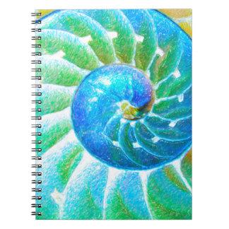 青いオウムガイ ノートブック