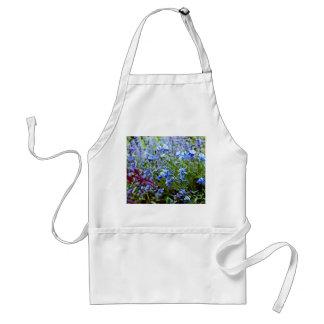 青いオダマキ(植物) -花 スタンダードエプロン