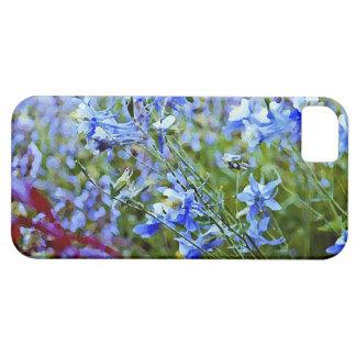 青いオダマキ(植物) -花 iPhone SE/5/5s ケース