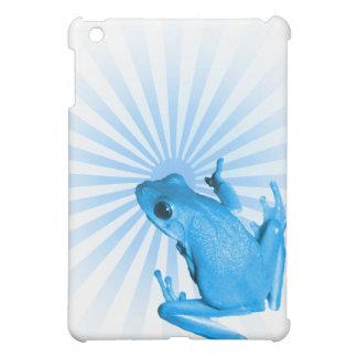 青いカエル iPad MINIケース