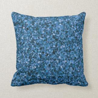 青いカムフラージュの装飾用クッション クッション