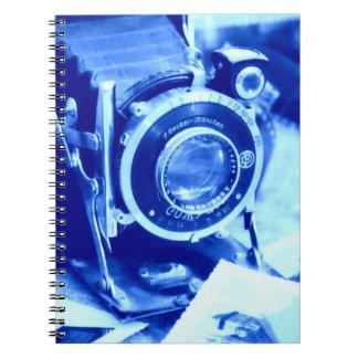 青いカメラ ノートブック