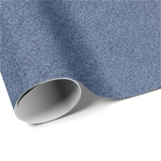 青いカーペットの質 包装紙