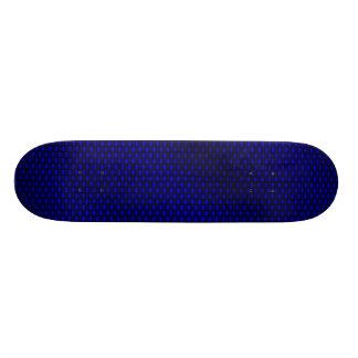青いカーボン繊維 スケボーデッキ