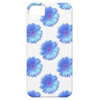 青いガーベラのデイジー iPhone SE/5/5s ケース