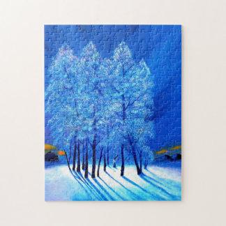 青いクリスマス# 1 ジグソーパズル