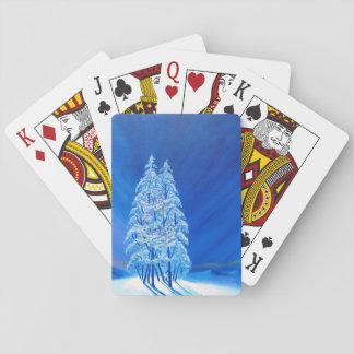 青いクリスマス# 2 トランプ