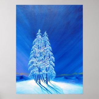 青いクリスマス# 2 ポスター