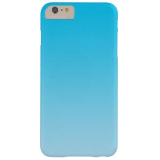 青いグラデーション BARELY THERE iPhone 6 PLUS ケース