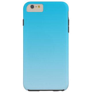 青いグラデーション TOUGH iPhone 6 PLUS ケース